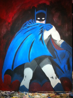 Batman Painitng