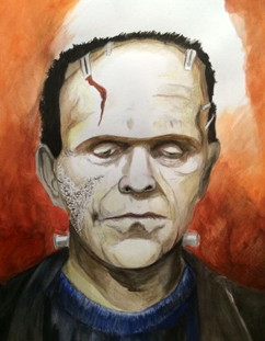 Frankenstein Painitng