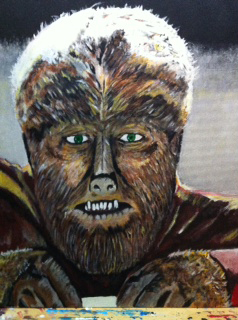 Wolfman Painting